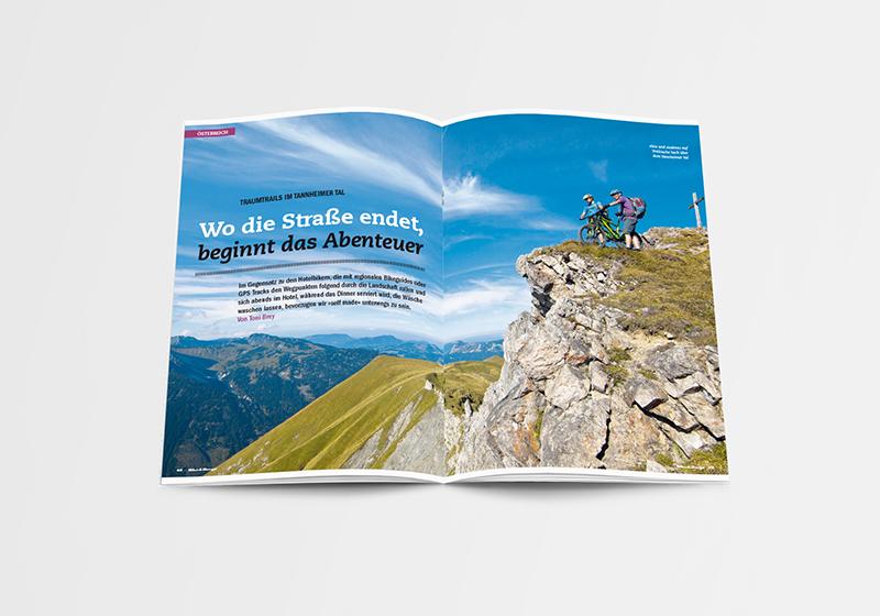 Bike Berge Magazin Bruckmann
