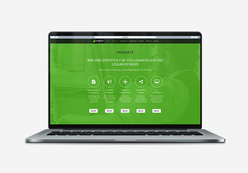 Webdesign Pergenta
