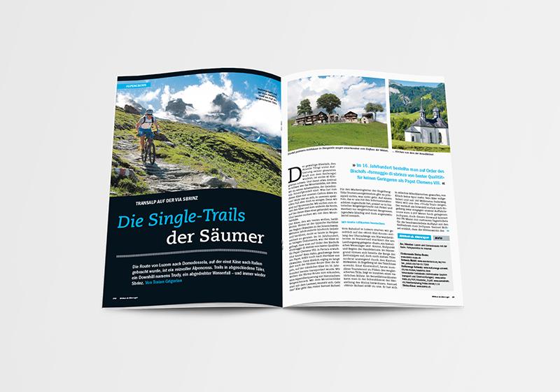 Bike Berge Magazin